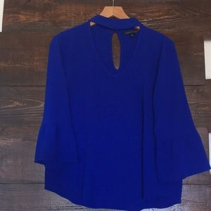 Moa Moa true blue blouse